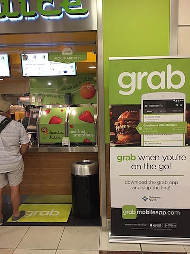 Grab App Unlocks Access To Airport Dining For Travelers