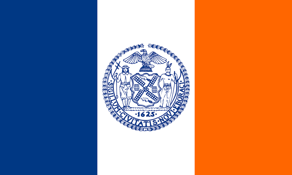 Queen's New York flag