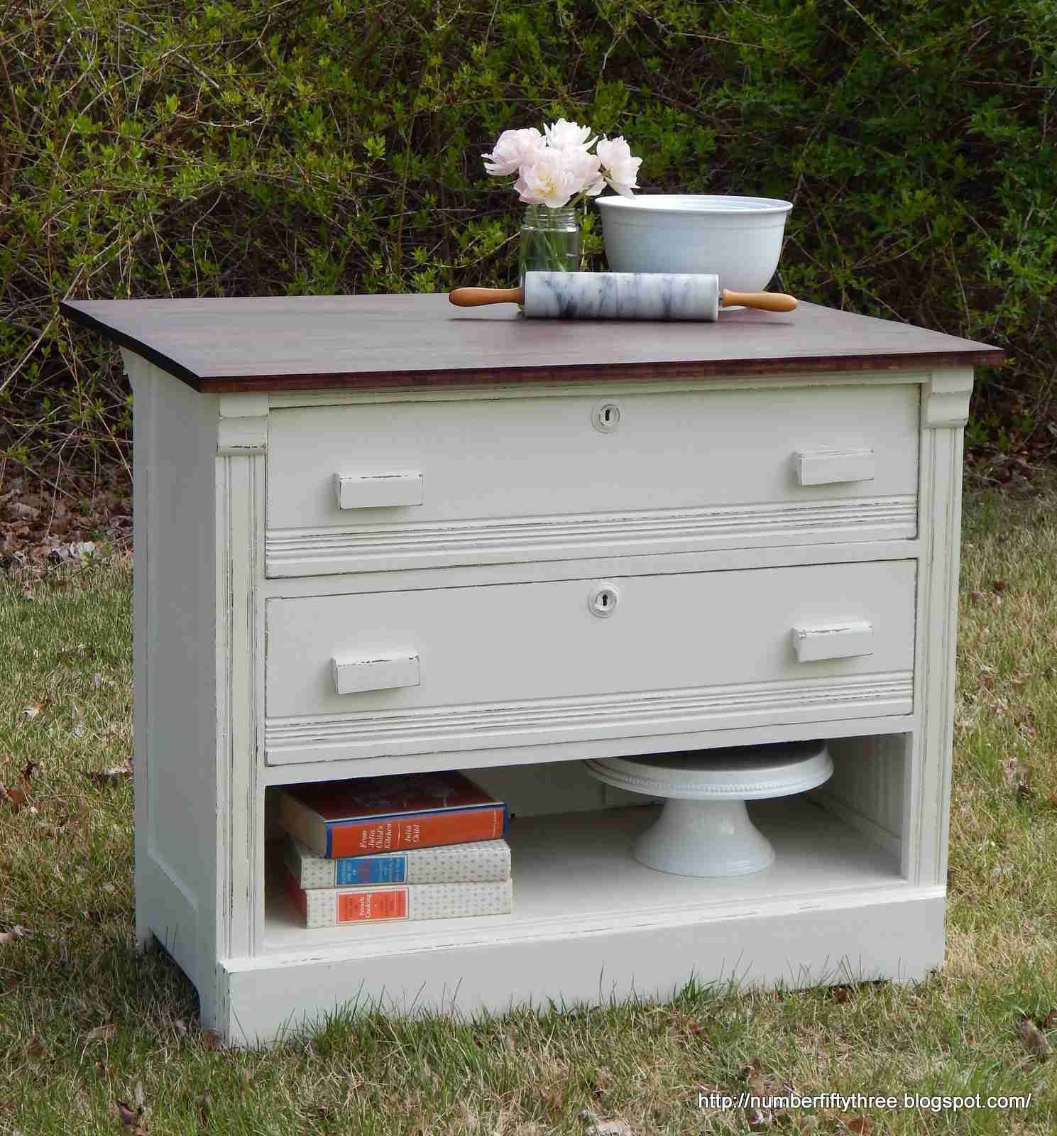 desk chalk and out with dresser paint bin luxury in ideas design pottery barn painted grey of new pull pulls refinished top home