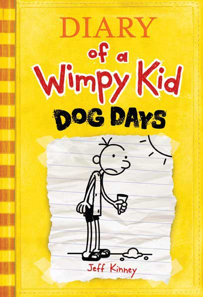 Cover art of Diary of a Wimpy Kid Dog Days by Jeff Kinney
