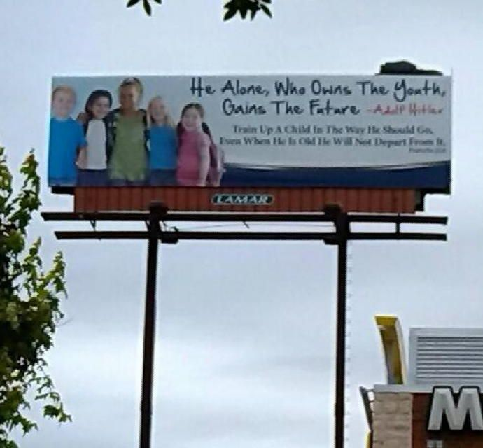 Hitler Quotes On Youth: 9 Weird Billboards