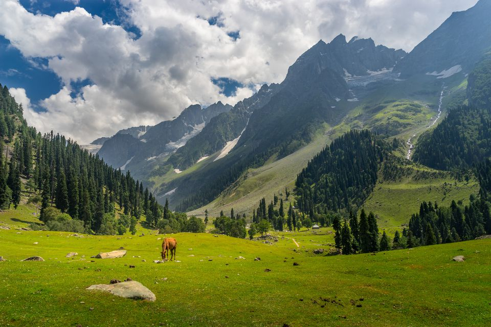 Sonamarg landscape.