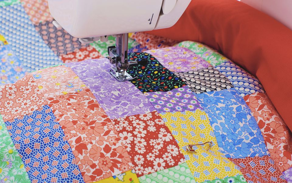 Sewing quilt seams