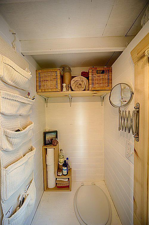 tiny bathroom wall organization - Tiny Bathroom Remodel Ideas