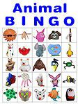 Animal Bingo Cards