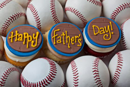 Happy father's day cupcakes
