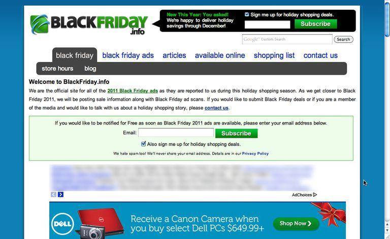 Black Friday Info