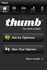 Thumb App for iPhone and Android