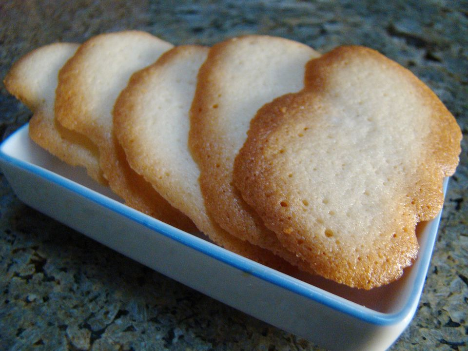 Brown Edge Butter Cookies