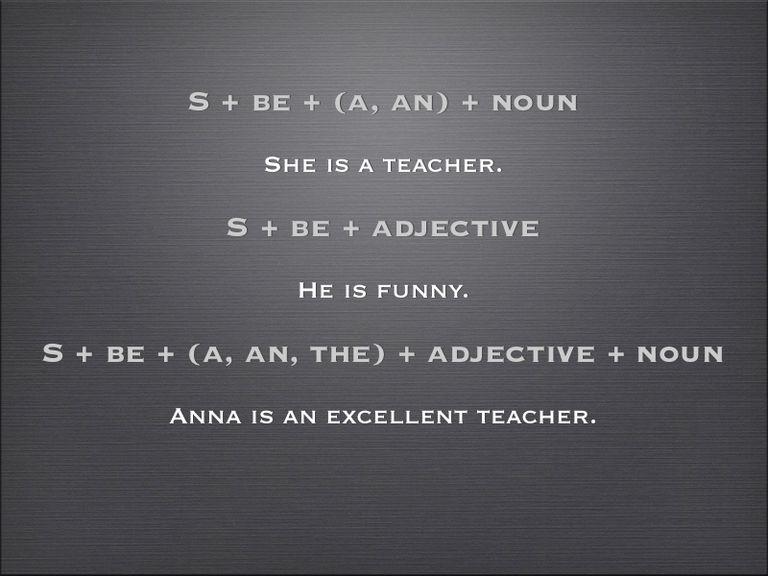 Three Basic Sentence Patterns in Writing.