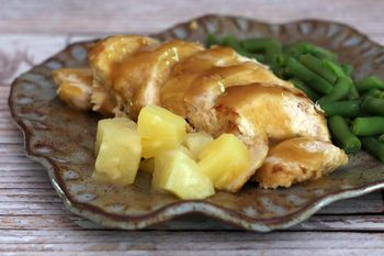 Easy Pineapple Baked Chicken Breasts
