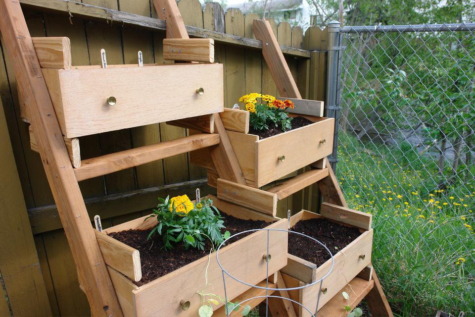 10 creative vegetable garden ideas dresser turned into a vegetable garden workwithnaturefo