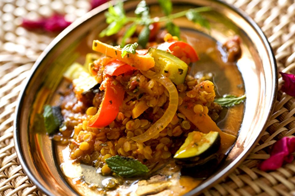 Delicious Thai Lentil Curry!