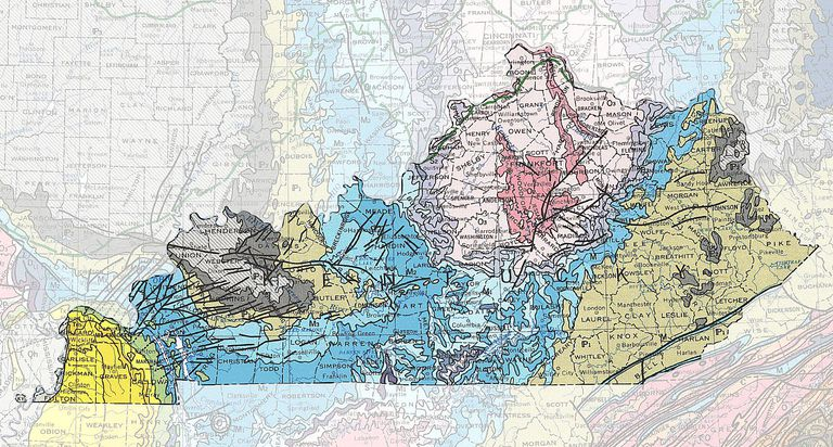 Kentucky Geologic Map Kentucky S Rocks