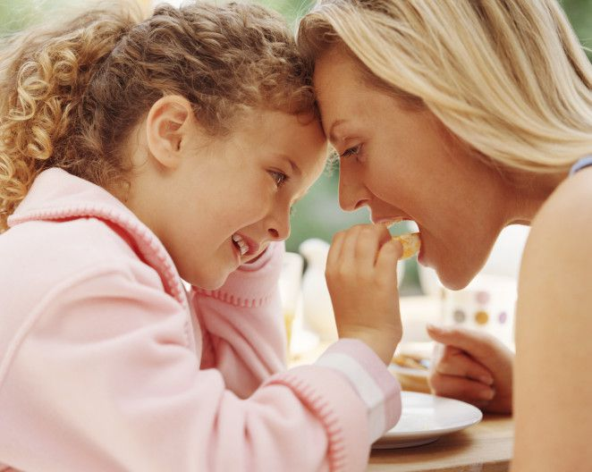 cooking and eating with kids