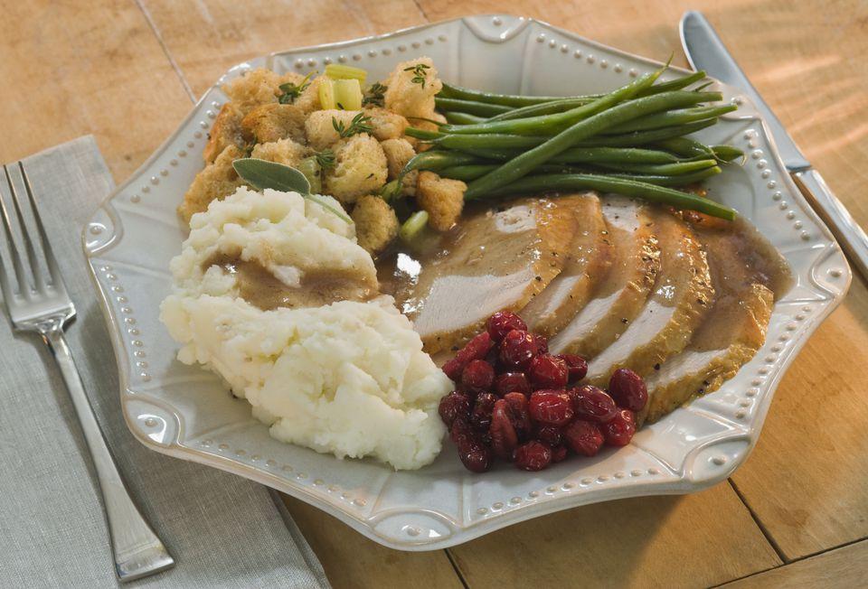 Thanksgiving dinner calories