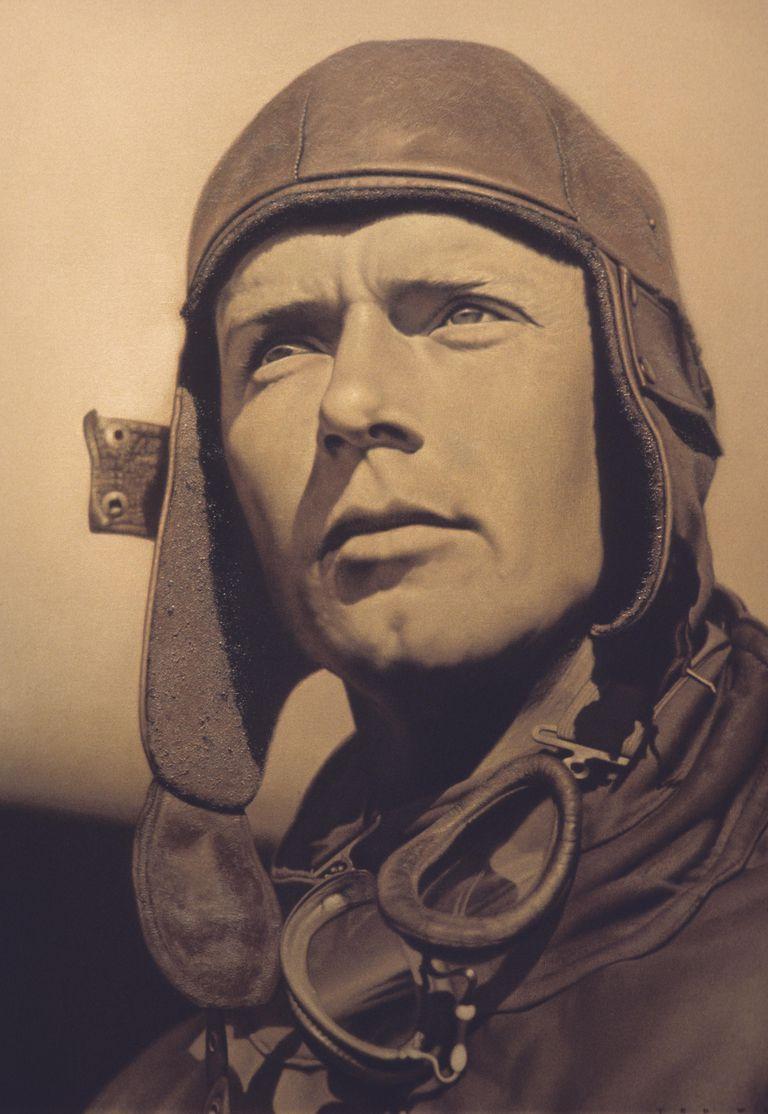 Portrait of Charles Lindberg