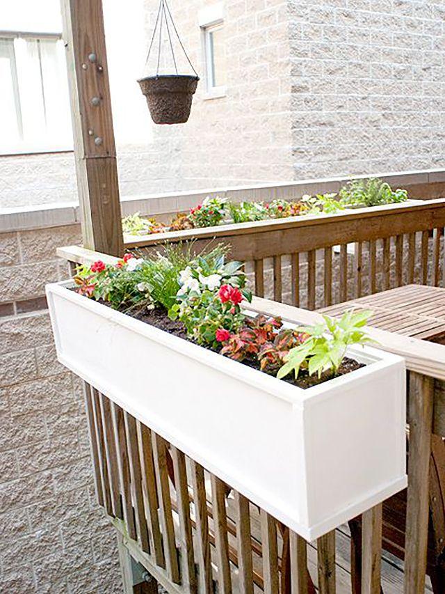 DIY Flower Box Planter