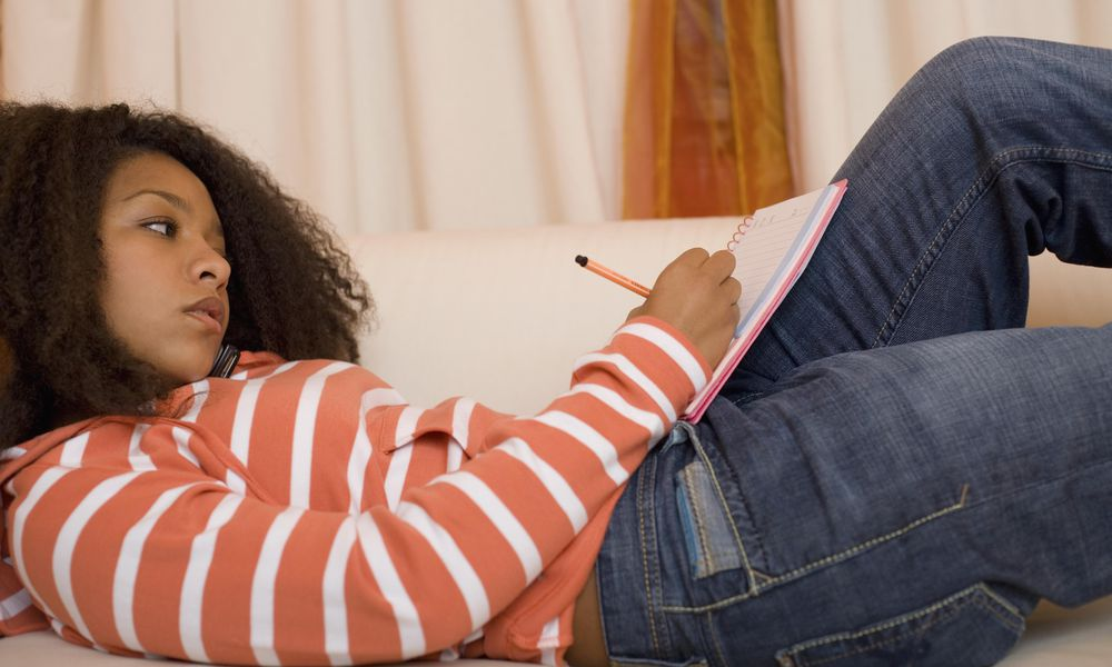 Teach your teen how to manage her time well.