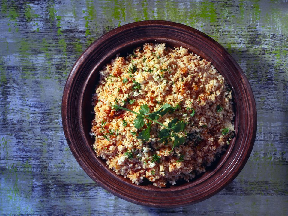 Couscous with Onion & Herbs