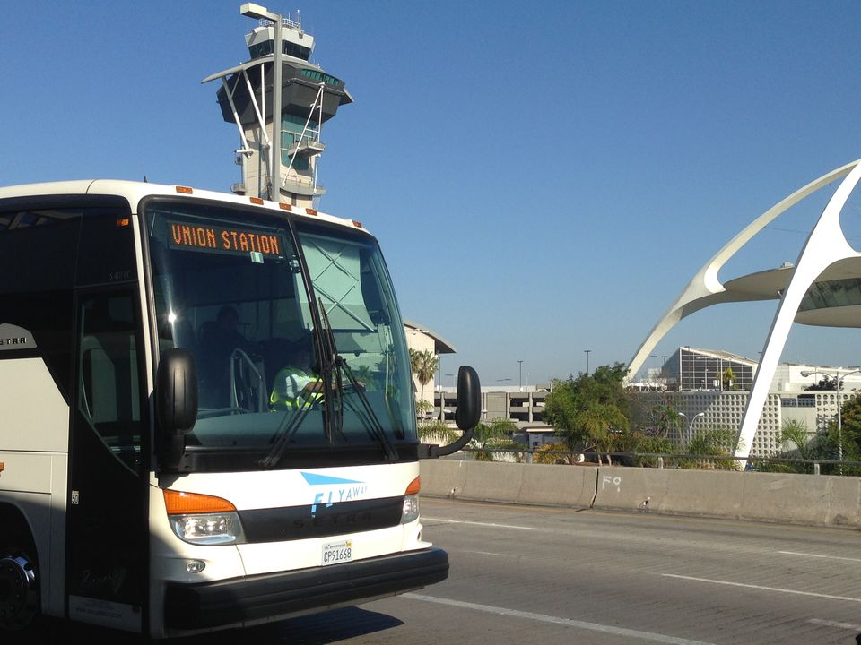 LAX FlyAway Bus to Union Station