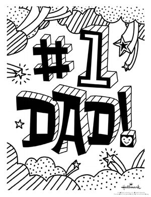 177 Free Printable Father s Day Coloring Pages