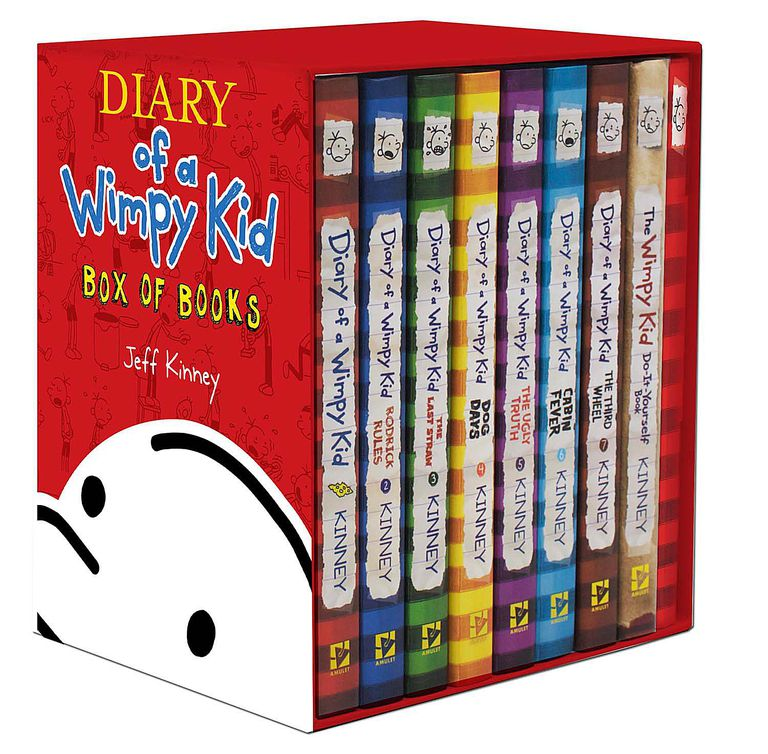 All about jeff kinneys diary of a wimpy kid some of the books in the diary of a wimpy kid series which keeps growing amulet books an imprint of harry n abrams inc solutioingenieria Choice Image