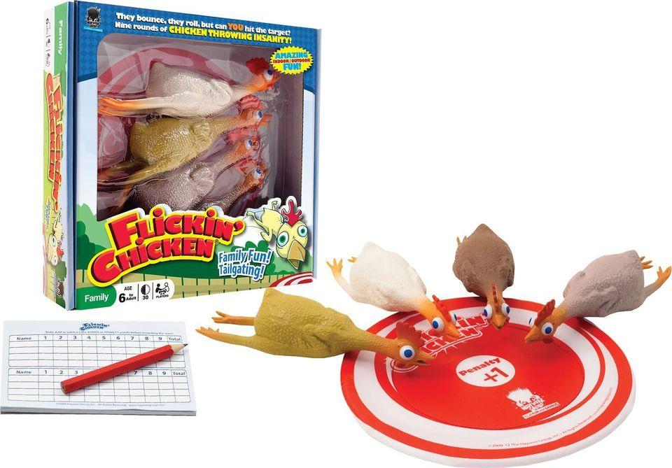 Flickin Chicken Game