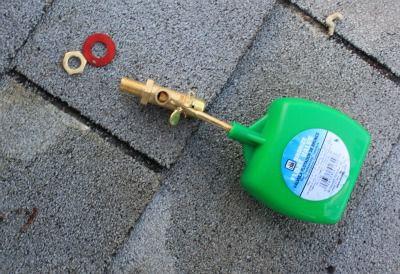 Swamp cooler float valve