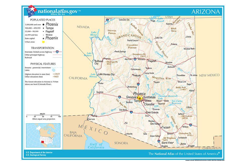 az planning map
