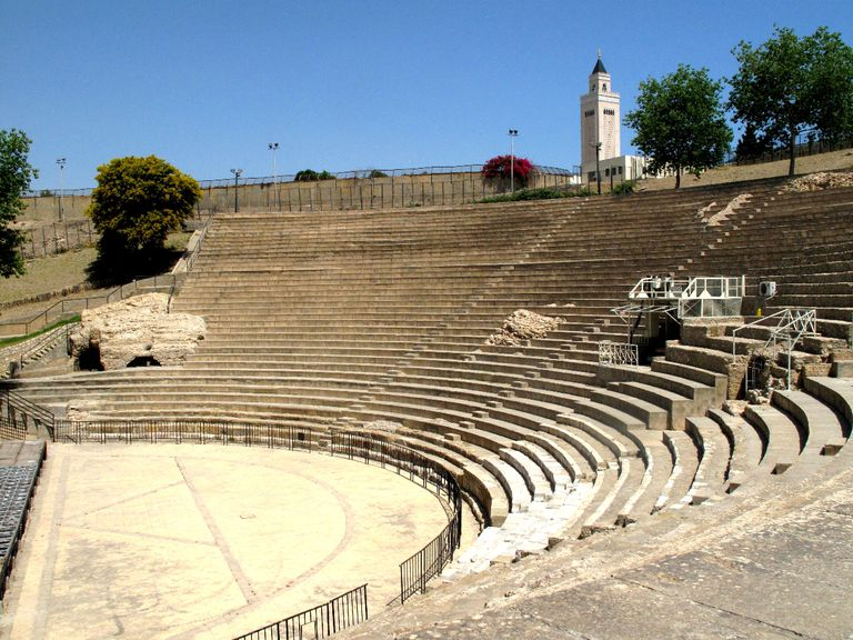 Roman Ampitheater at Carthage