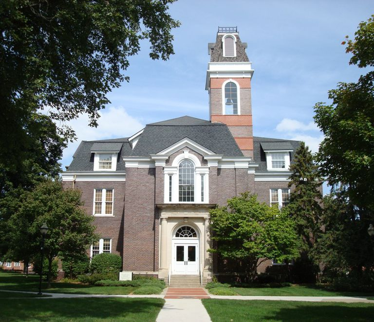 College Hall at Simpson College