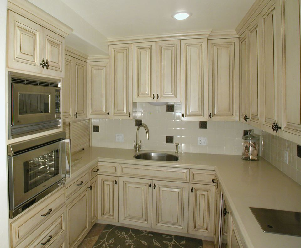 raised panel cabinets in kitchen