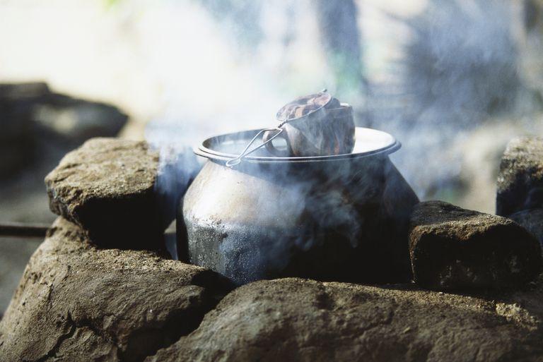 Cast Iron Cauldron