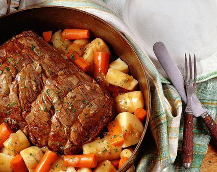 how to make beef pot roast