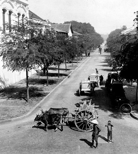 1915 Photo of Saigon, colonial French Indochina (Vietnam)