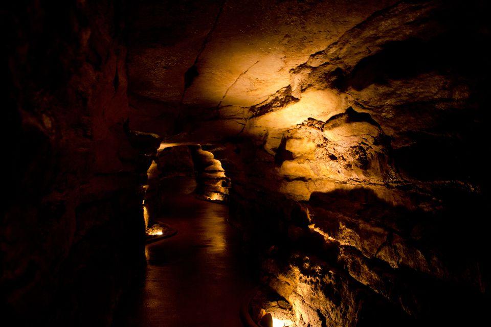 Dimly Lit Cave