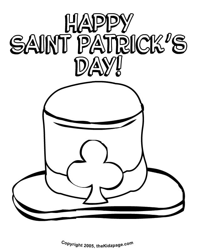 271 free printable st patricks day coloring pages - Patrick Coloring Pages
