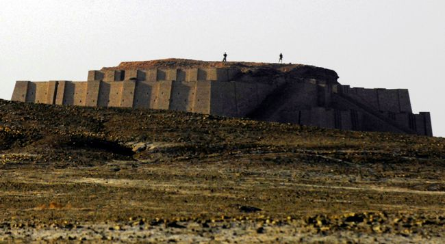 The great ziggurat at Ur