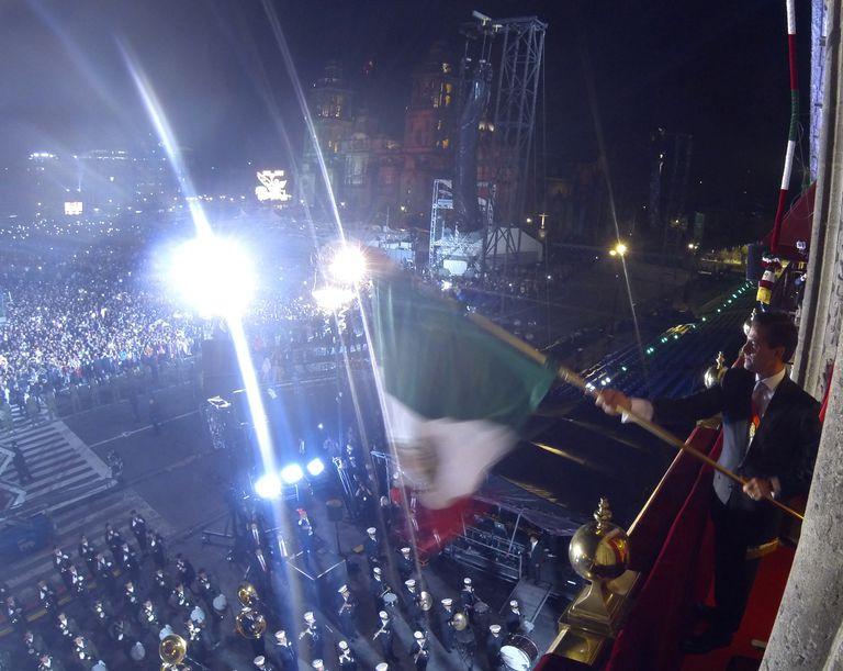 Ceremonia del Grito de Independencia