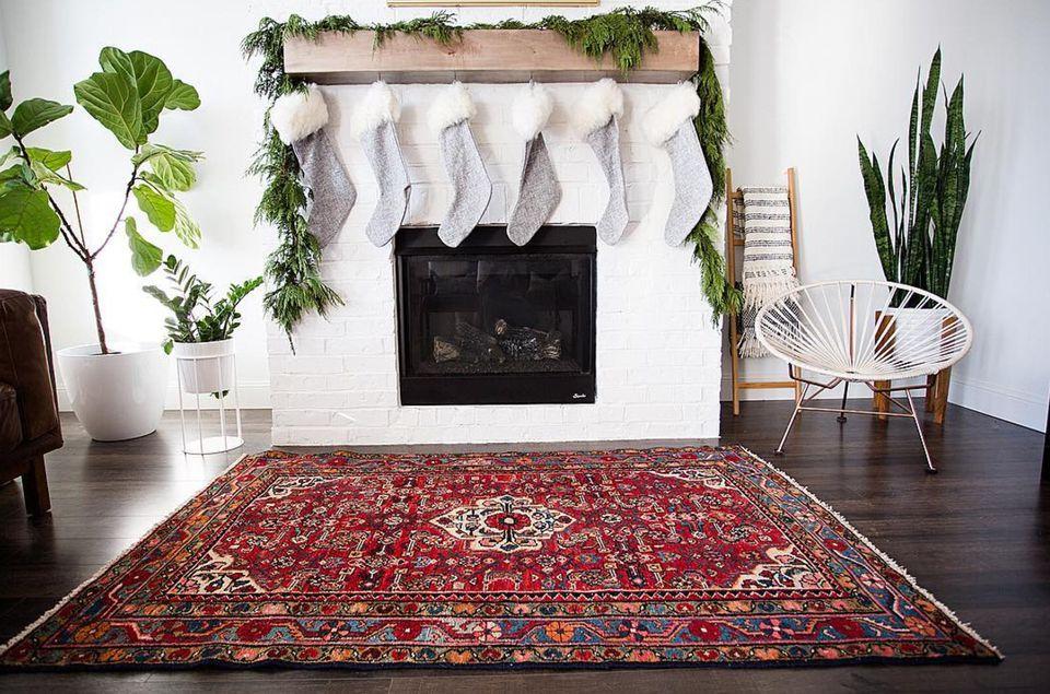 turkish rug in living room