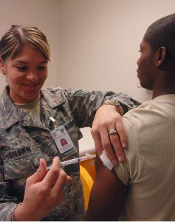 Learn About Military Vaccinations and Disease Prevention Efforts