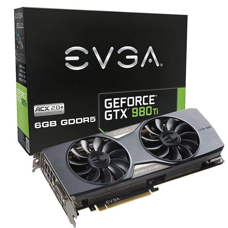 eVGA GeForce GTX 980 Ti ACX 2.0+ PCI-Express Graphics Card
