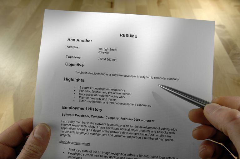 resume - Best Formats For Resumes