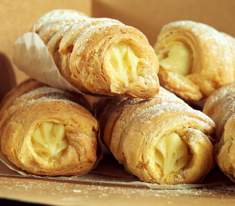 Cream Filled Pastries