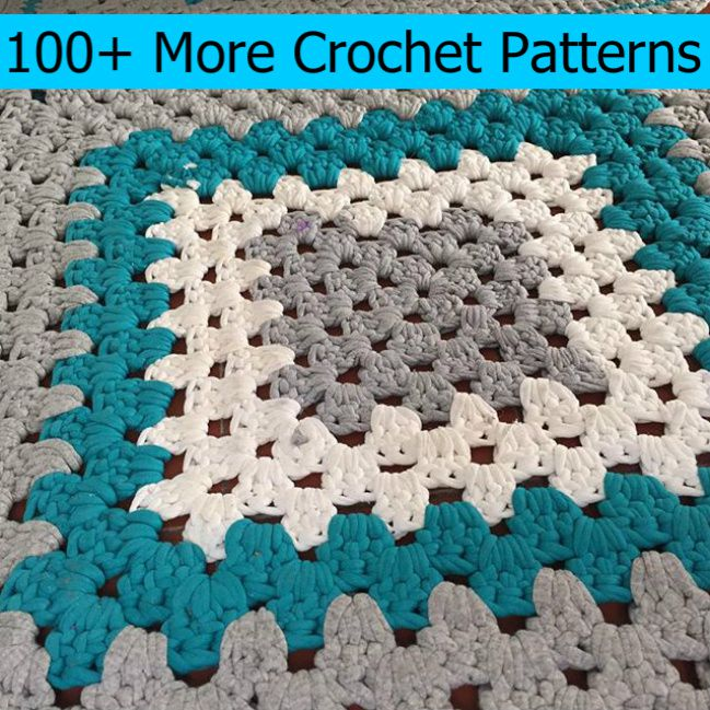100+ More Crochet Patterns