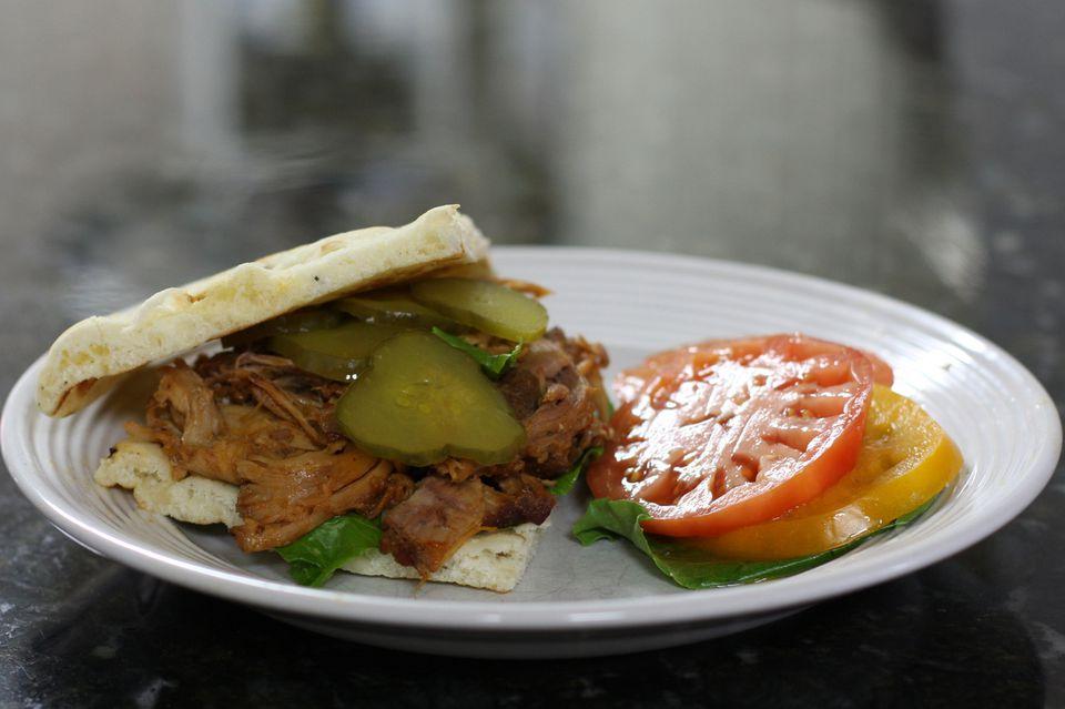 Oven Braised Pork Shoulder With Apple Juice