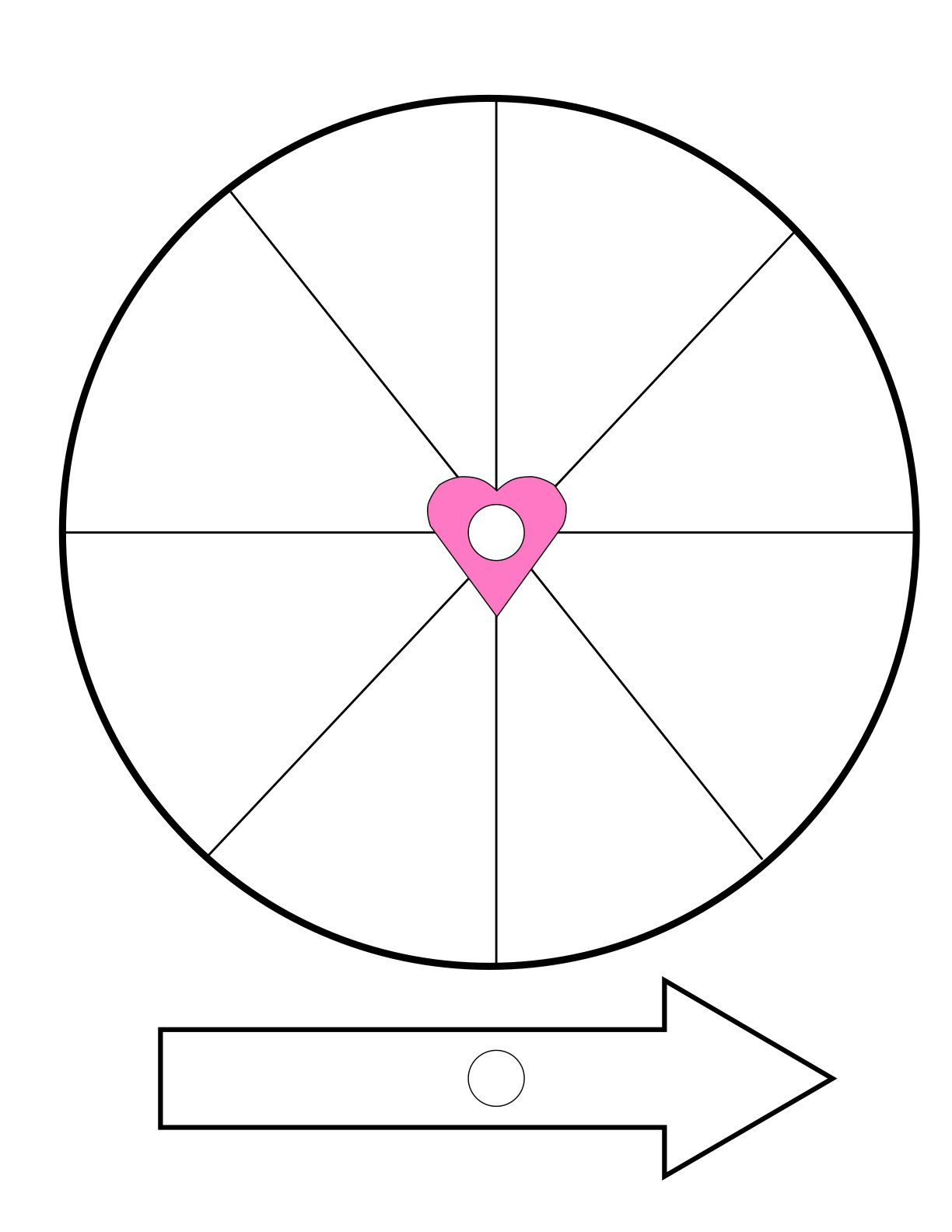 how to make a valentine's spinner, Powerpoint templates