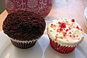 Two Little Red Hens cupcakes