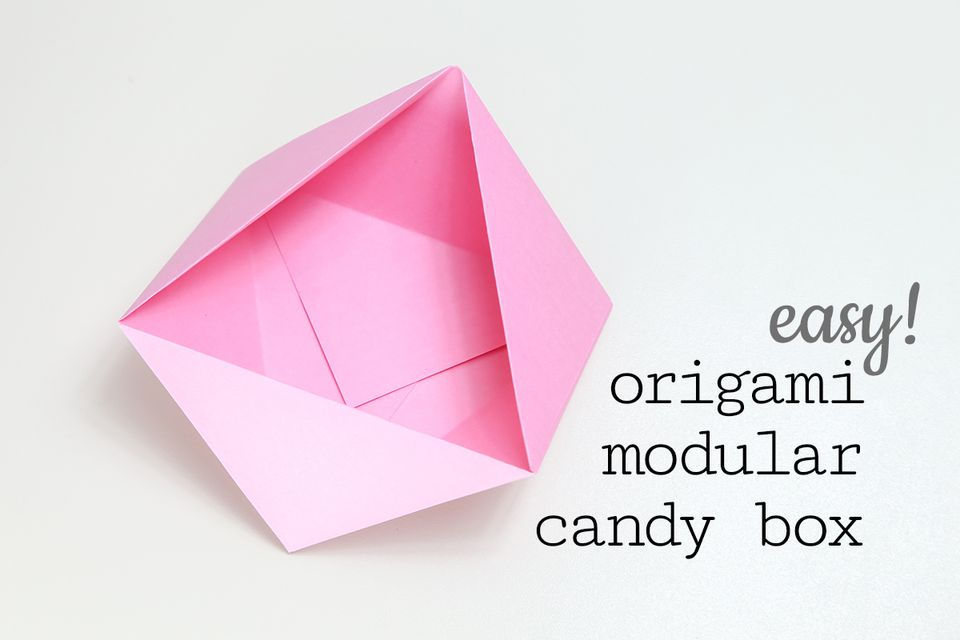 Easy Origami Candy Box